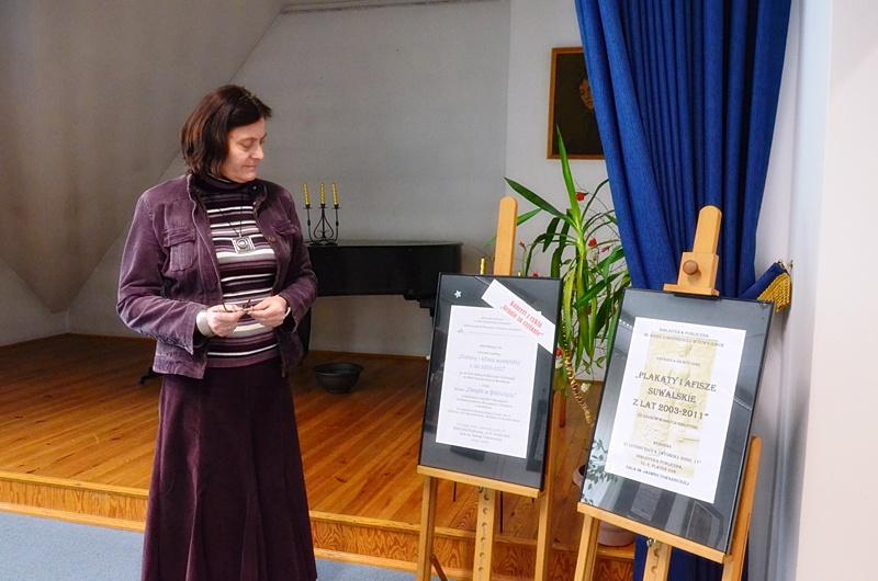 Maria Kołodziejska w BP w Suwałkach pracuje od dawna.