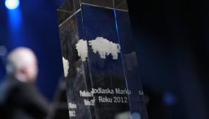 Statuetka Podlaskiej Marki Roku (fot. archiwum organizatora).