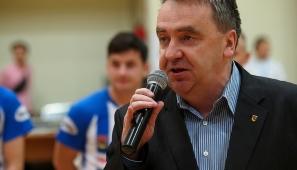 Na zdj. Marek Buczyński, zastępca prezydenta Suwałk ds. oświaty, wychowania i sportu (fot. Wojciech Otłowski).