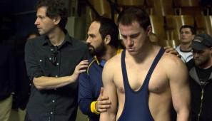 Foxcatcher - na zdj.: Bennett Miller, Channing Tatum, Mark Ruffalo.