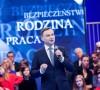 Na zdj. Andrzej Duda podczas prezentacji umowy programowej w Warszawie (źródło: oficjalna strona kandydata).