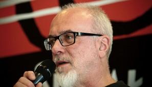 Jan Chojnacki w Suwalskim Ośrodku Kultury (fot. Wojciech Otłowski).