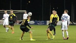 Wigry Suwalki - GKS Katowice 0:1, I liga, 21.XI.2015