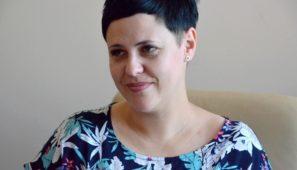 Na zdj. dr Marta Wiszniewska, rektor-elekt PWSZ w Suwałkach.